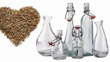 Jak wyczyścić butelkę i słoik? 5 prostych patentów na zabrudzone szkło