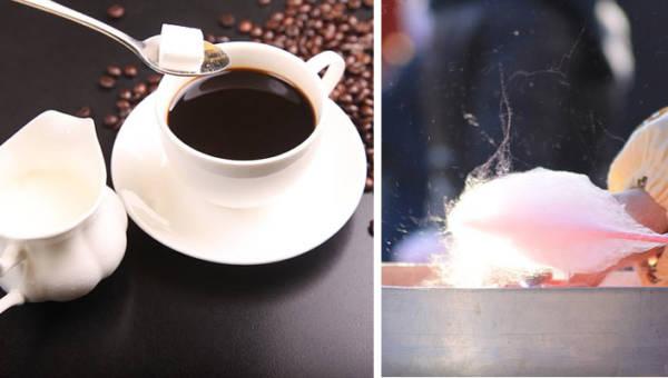 Kawa z watą cukrową – wynalazek szanghajskiej kawiarni, dzięki której dzień od razu stanie się lepszy