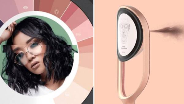 Makijaż z drukarki 3D – maszyna przeniesie make up z Instagrama na twarz w kilka sekund. Czy nadchodzi nowa era?