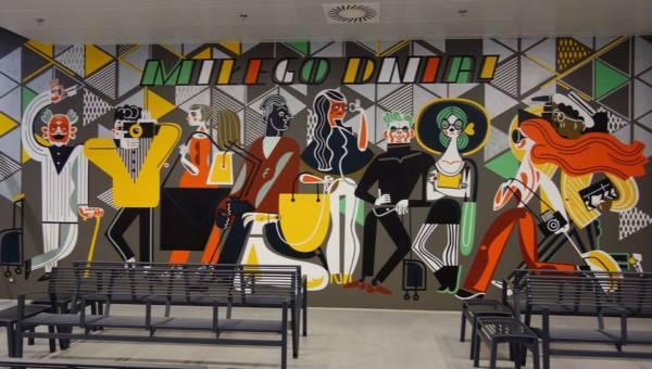 Najpiękniejsze murale w Polsce. Sztuka wyszła na ulice, kolorując szare i smutne budynki