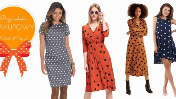 Przewodnik zakupowy: idealna sukienka w groszki do 150 złotych
