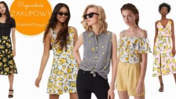 Przewodnik zakupowy: modne ubrania w cytryny idealne na lato!