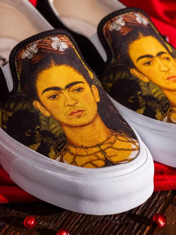 Vans i Frida Kahlo artystyczna kolaboracja KobietaMag.pl