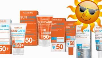 Dermokosmetyki na słońce od marki Floslek. Wybierz ochronę dla swojej skóry