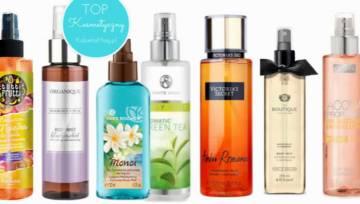 Top kosmetyczny: najlepsze mgiełki do ciała na lato