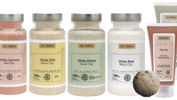 Nowości od Starej Mydlarni: naturalne glinki do organicznej pielęgnacji twarzy i ciała