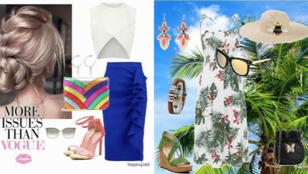 Sroka na wakacjach, czyli kolorowe stylizacje z letnimi akcesoriami