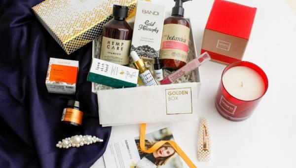 Goldenbox No.13 – wcale nie jest pechowy! 6 luksusowych kosmetyków i… pachnący prezent!