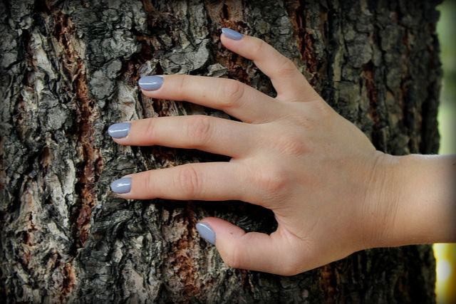 trendy manicure na jesień 2019