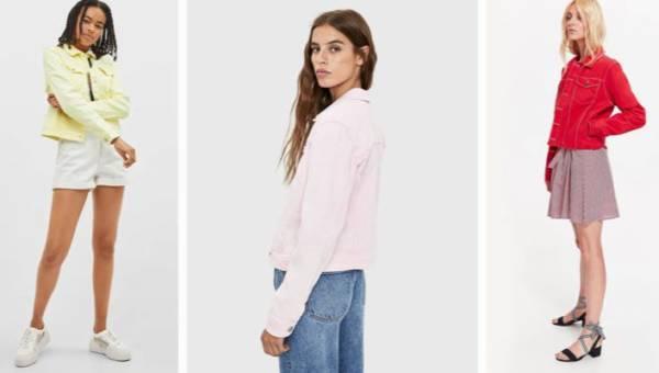 Kolorowe dżinsowe kurtki – teraz będą modne jak jeszcze nigdy wcześniej!