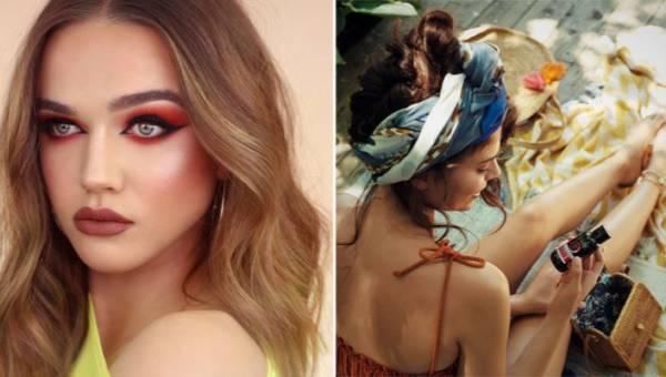 Makijaż z czerwienią – kolejny letni trend, który przetrwa do jesieni. Wykonasz go z kosmetykami Eveline
