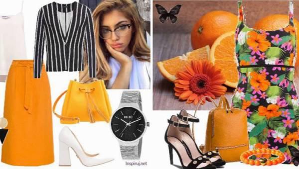 Dzień w kolorze pomarańczy. Stylizacje inspirowane jednym z najmodniejszych kolorów jesieni