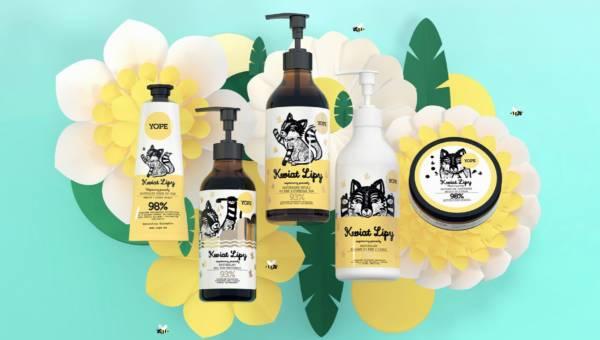 Kwiat Lipy na ratunek pszczołom! Przedstawiamy serię naturalnych kosmetyków od Yope
