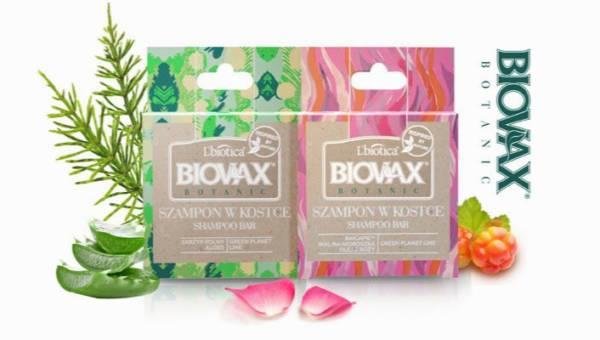Szampony w kostce Biovax Botanic – w duchu zero waste