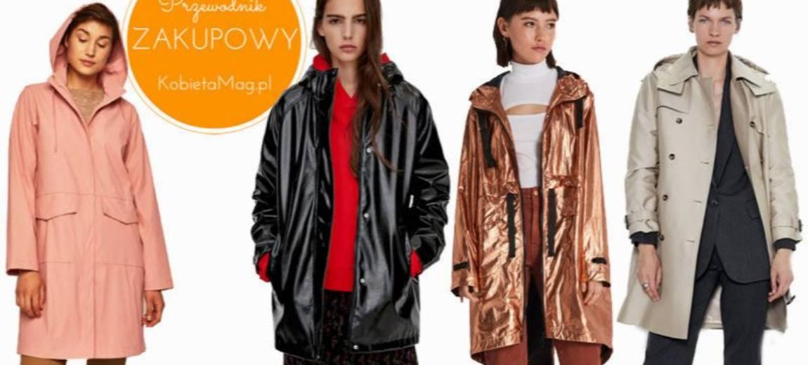Przewodnik zakupowy: modne kurtki przeciwdeszczowe na jesień 2019