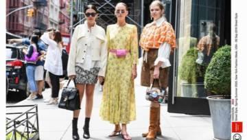 Moda uliczna z New York Fashion Week 2019. Zobacz najciekawsze stylizacje It Girls!