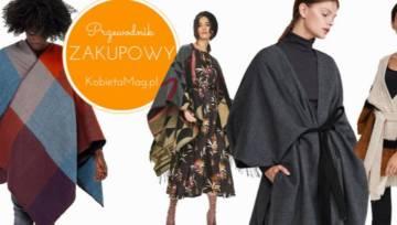 Przewodnik zakupowy: modne poncza na jesienne spacery
