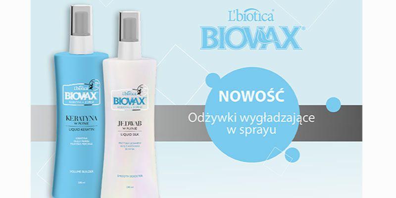 spraye do włosów Biovax