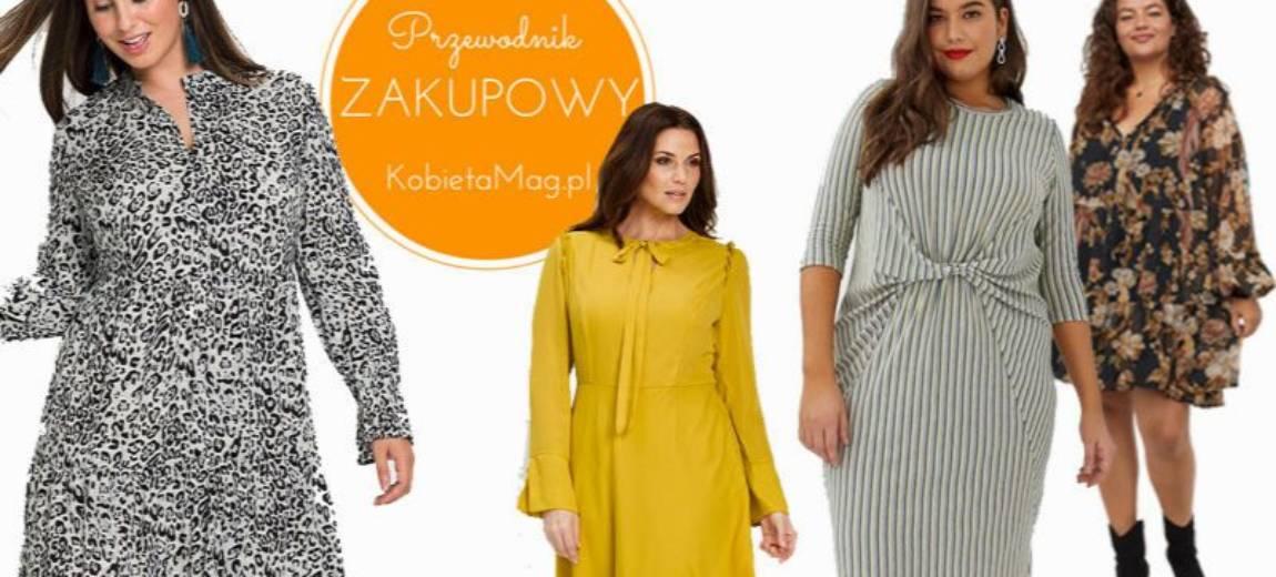 Przewodnik zakupowy: sukienki plus size na jesień 2019