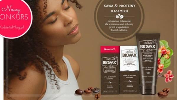 Ogłaszamy konkurs: Szczypta luksusu dla Twoich włosów z kosmetykami Biovax Coffee!