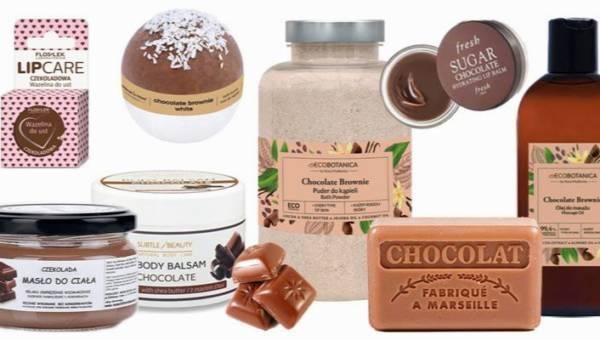 Czekoladowe kosmetyki – produkty, które czasem masz ochotę postawić w łazience, a czasem schować do lodówki