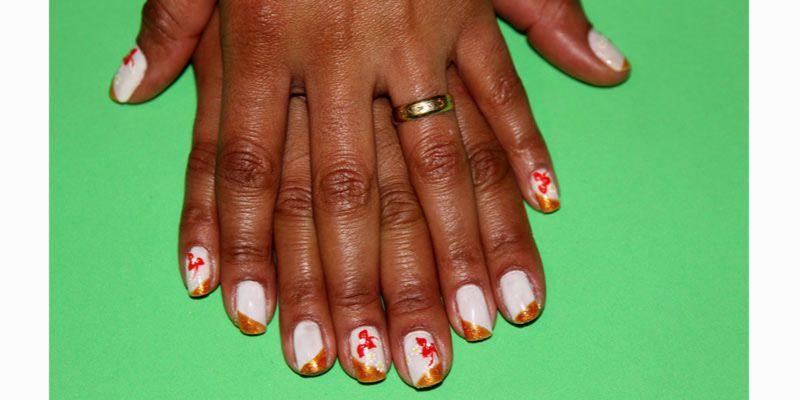 Side tip nails