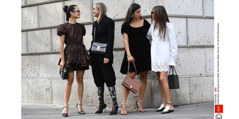 moda uliczna z paris fashion week