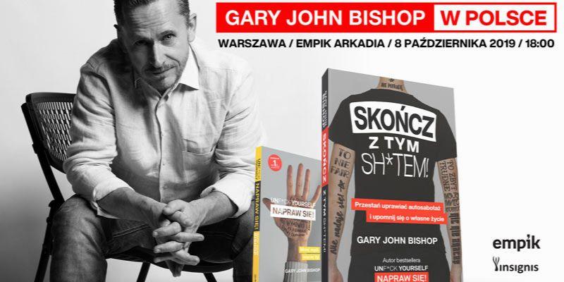 Gary John Bishop w Warszawie