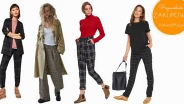 Przewodnik zakupowy: modne spodnie w kratę – nie tylko do pracy