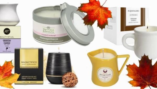 Świece do masażu – akcesoria, z którymi zorganizujesz idealną jesienną randkę w domu!