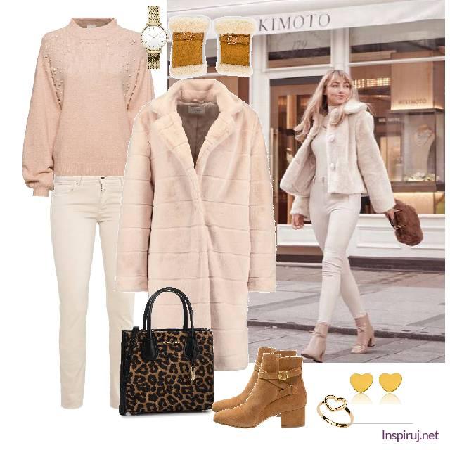 modne płaszcze z pluszu