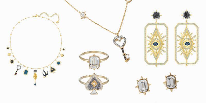 biżuteria z kartami tarota