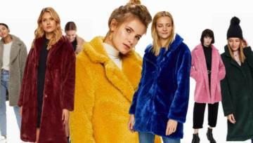 Pluszowe płaszcze to trend, na punkcie którego tej jesieni oszalał cały Instagram.  Za co pokochałyśmy ubrania przywodzące na myśl dziecięce zabawki?