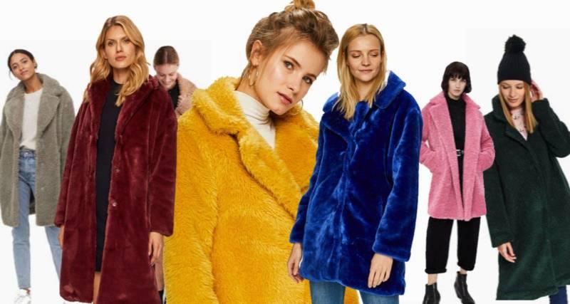 płaszcze welurowe na zimę 2019