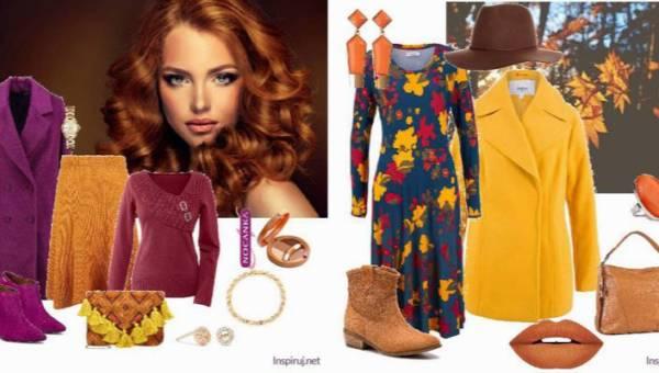 Pani Jesień – dwie propozycje modnych stylizacji dla jesiennego typu urody