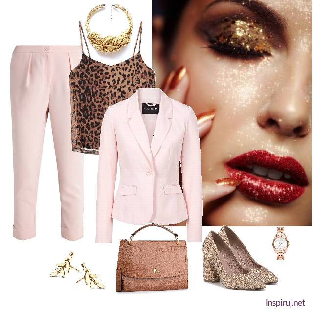 modny damski garnitur