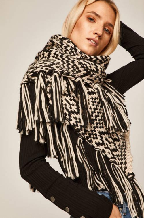 sposoby noszenia szali