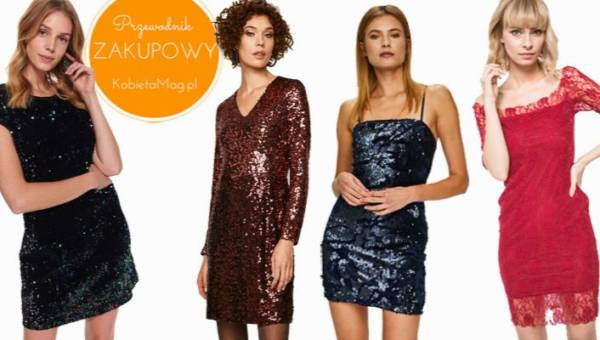 Najładniejsze sukienki na Sylwestra 2019 – wejdź w nowy rok, lśniąc jak diament!