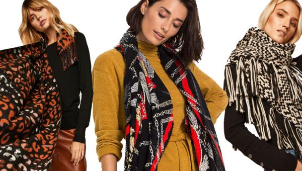 Sposoby noszenia szali – modny dodatek w dwóch odsłonach: jesienno-zimowych i świąteczno-sylwestrowych