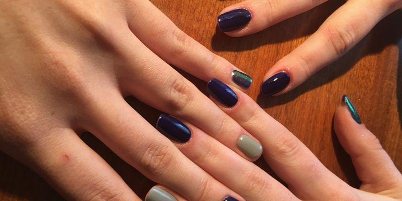 manicure dla par