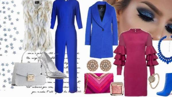 Kolor roku 2020 Classic Blue w dwóch eleganckich stylizacjach