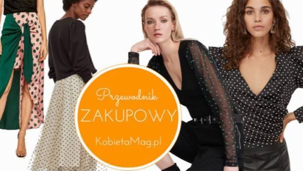 Przewodnik zakupowy: ubrania w grochy – trend wprost z największych wybiegów mody