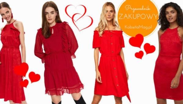 Przewodnik zakupowy: czerwone sukienki na Walentynki i inne stylizacje, na widok których Jego serce zabije mocniej