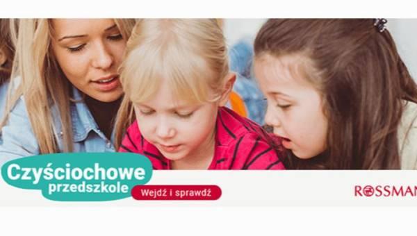 """Rusza akcja Rossmanna """"Czyściochowe przedszkole"""", edukująca najmłodszych w zakresie higieny osobistej. Sprawdź, czy Twoje przedszkole już do niej dołączyło!"""