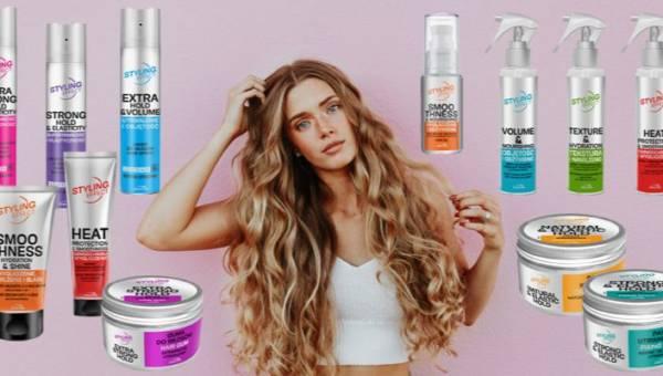 Masz problem z opanowaniem niesfornych kosmyków? Wypróbuj kosmetyki z nowej serii Joanna Styling Effect!