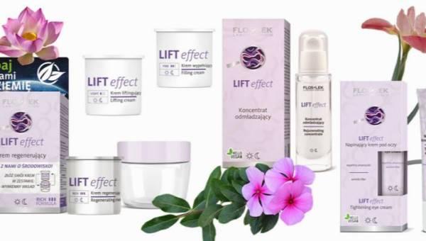 Lifting bez skalpela? Z najnowszą serią Lift effect od Laboratorium Kosmetycznego FLOSLEK to możliwe!