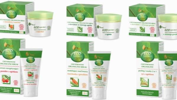 Eko kosmetyki z warzywnych ekstraktów – poznaj certyfikowaną przez Ecocert linię Eco Garden