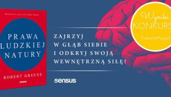 """Wyniki konkursu z książką Roberta Greene'a """"Prawa ludzkiej natury""""!"""