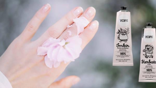 Weź sprawy w swoje ręce! Pomogą Ci w tym naturalne kremy i balsamy do rąk YOPE