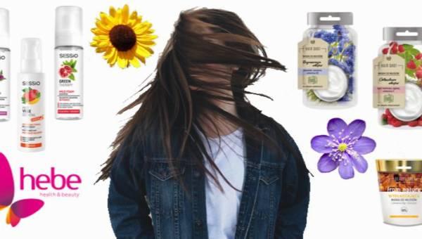 Nowości do włosów z Hebe: naturalne maski, krem BB i szampony w piance